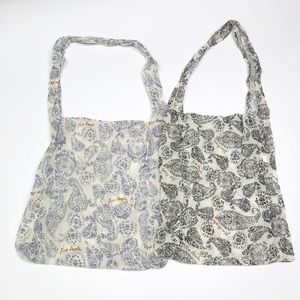 Free people reusable shopping totes (set of 2)
